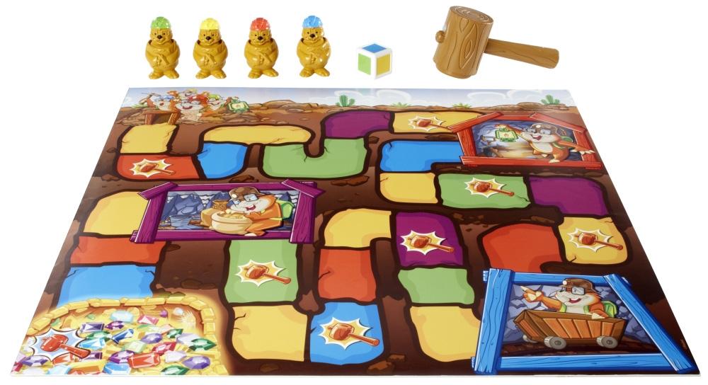 Развивающие и обучающие Mattel Games Настольная игра Mattel Games «Гонка за сокровищами» игра ударь крота pui lok hong 1 3 7