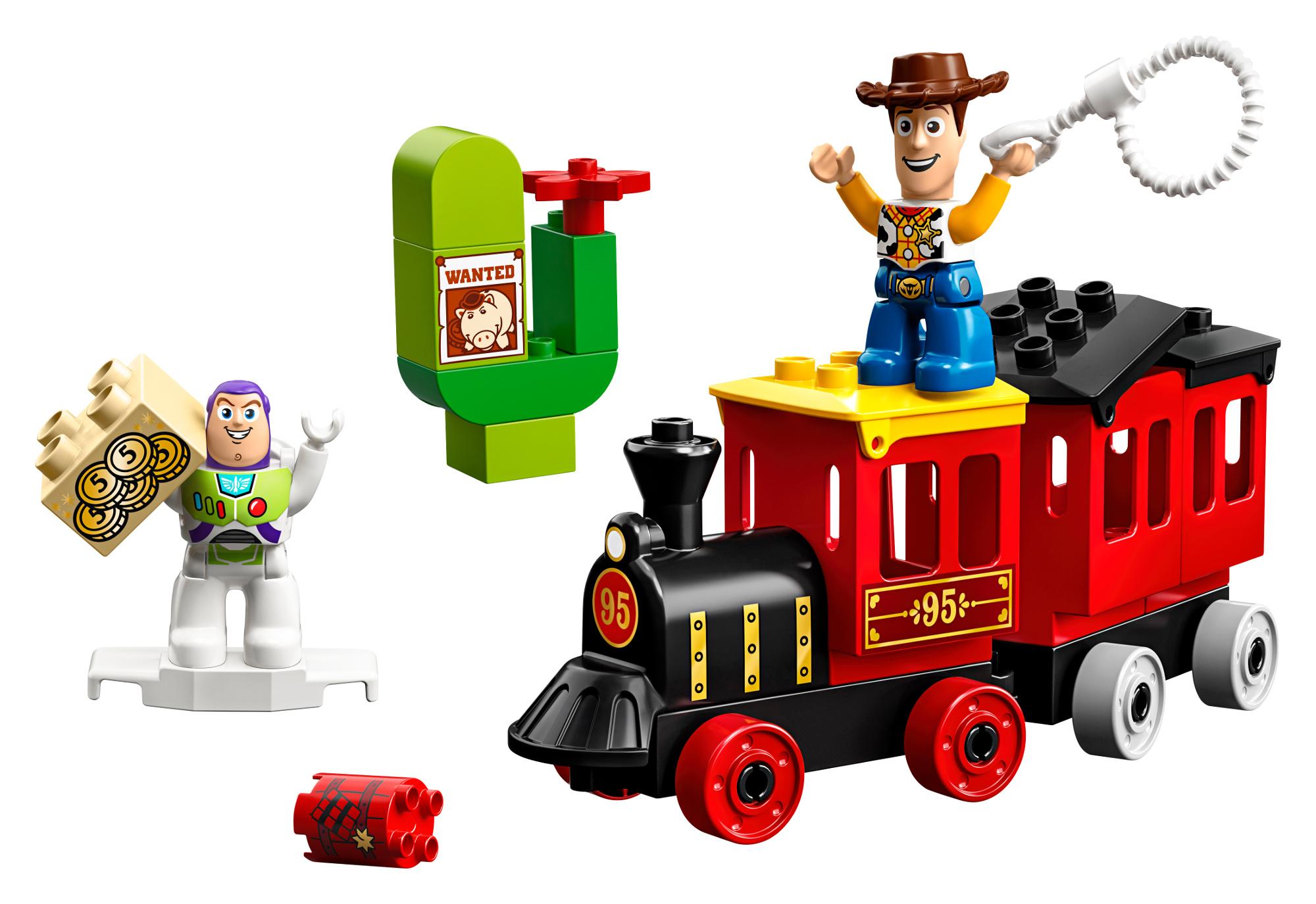 Купить Конструктор, Toy Story 10894 Поезд История игрушек, LEGO, Венгрия, пластмасса