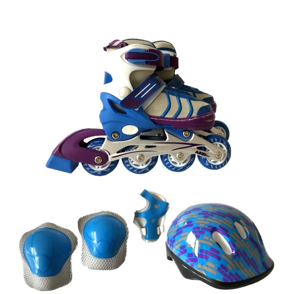 Роликовые коньки ASE-SPORT COMBO ASE-631 коньки хоккейные раздвижные ase sport ase 211f цвет белый розовый размер 34 37