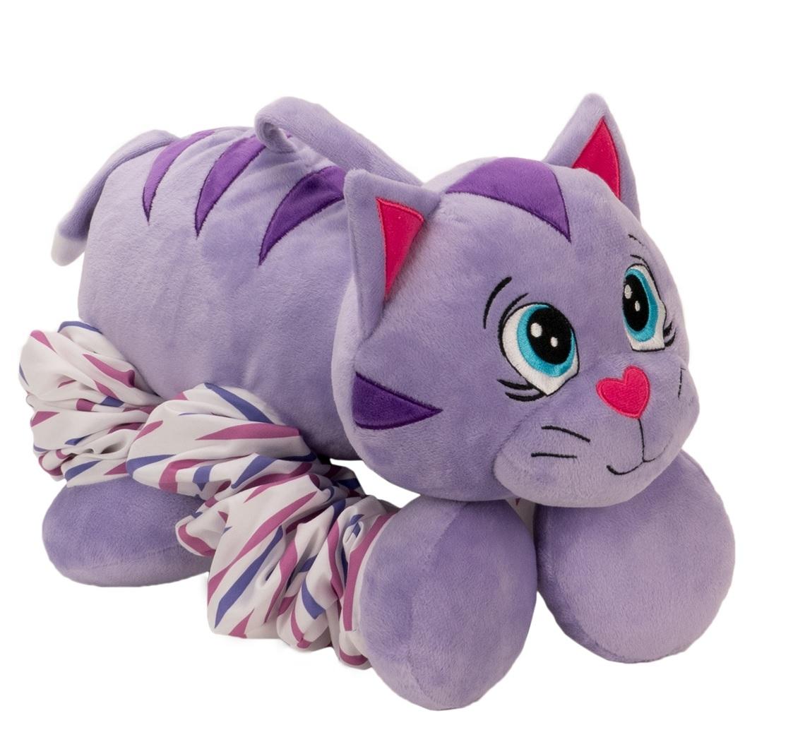 Мягкая игрушка 1toy Пружиножки. Котик