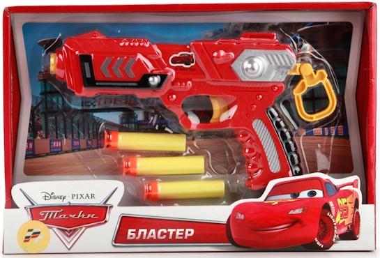 Игрушечное оружие и бластеры Играем вместе Тачки с мягкими патронами 25 см