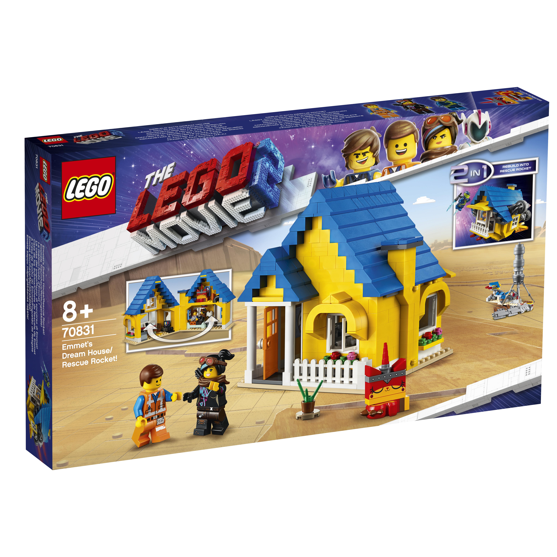 Конструктор LEGO Movie 70831 Дом мечты / Спасательная ракета Эммета! андерсон к дом ее мечты роман