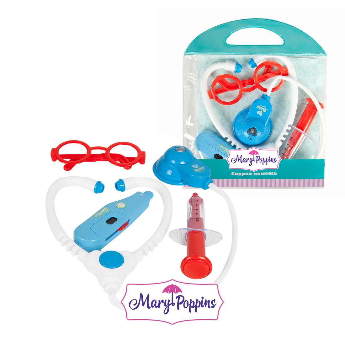 Игровые наборы Профессия Mary Poppins Скорая помощь 4 предмета цена