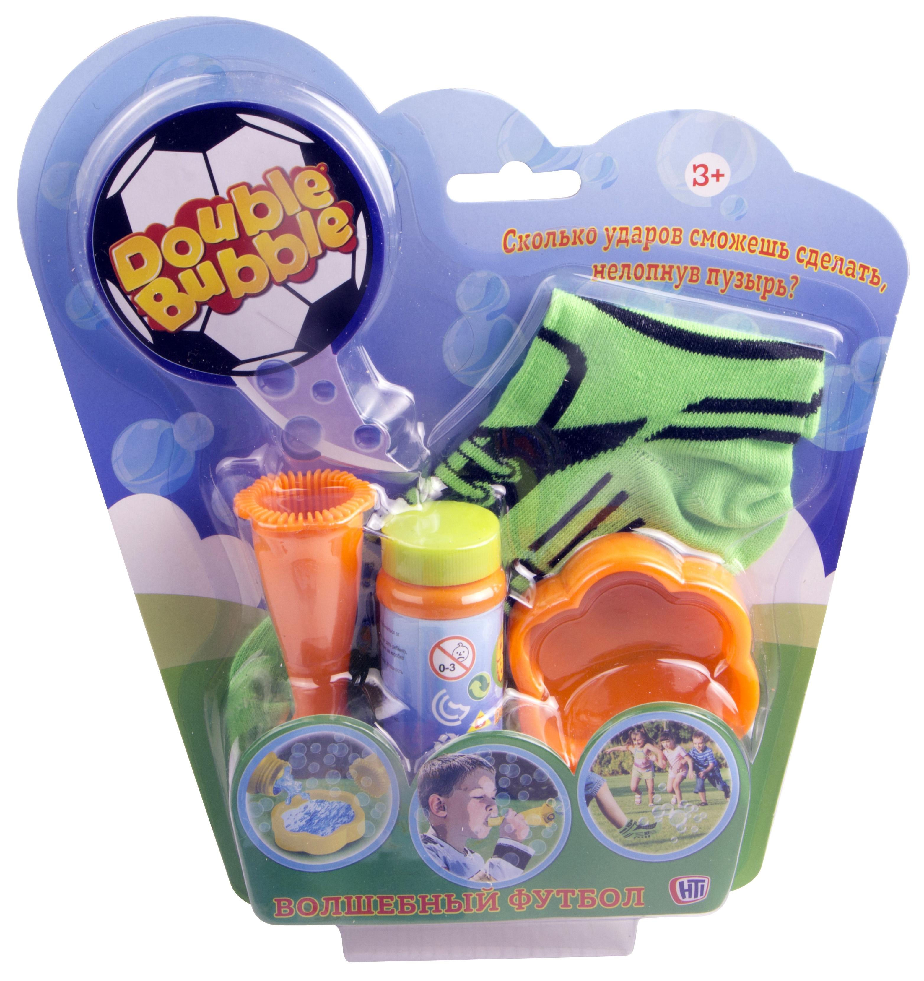 Набор для пускания мыльных пузырей HTI Волшебный футбол hti набор для пускания мыльных пузырей с бутылочкой hti