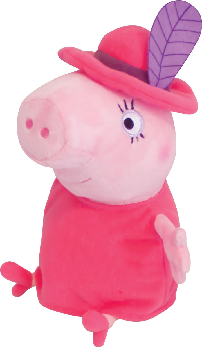 Мягкая игрушка Peppa Pig Мама в шляпе