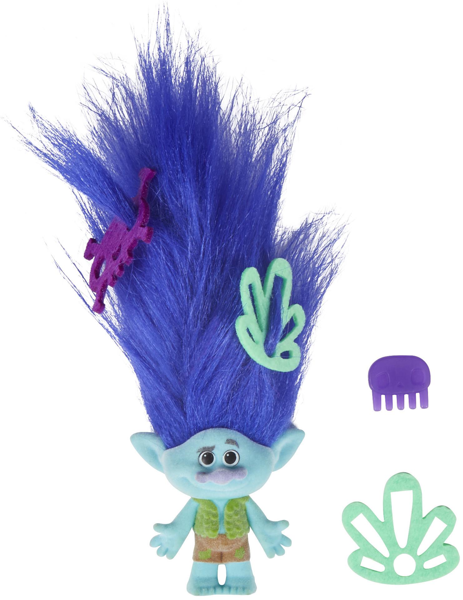 Фигурки героев мультфильмов Trolls Игровой набор Trolls с троллем с супер длинными поднимающимися волосами в ассорт. ежедневник а5 288стр н датир maestro de tiempo novela синий термо к з 8318332