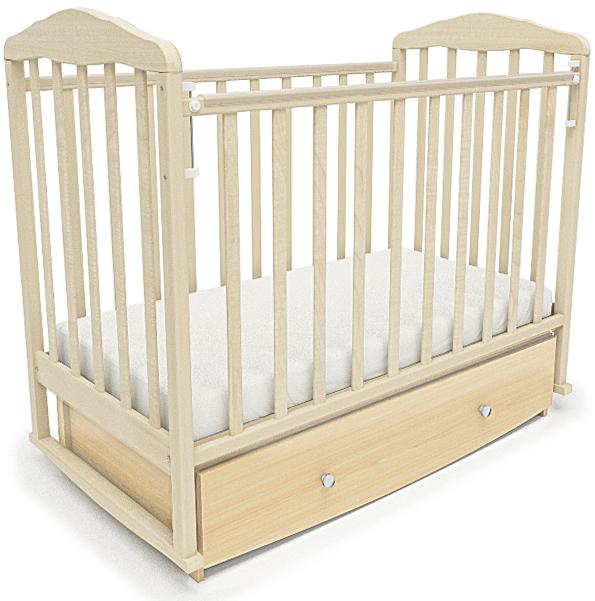 Кроватки СКВ-Компани 12300 кроватка скв березка 120119 бежевый