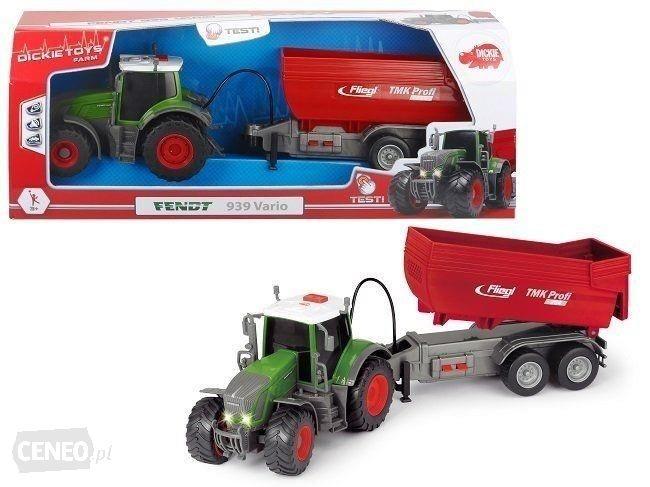 DICKIE Fendt 3737000 dickie toys трактор fendt с прицепом