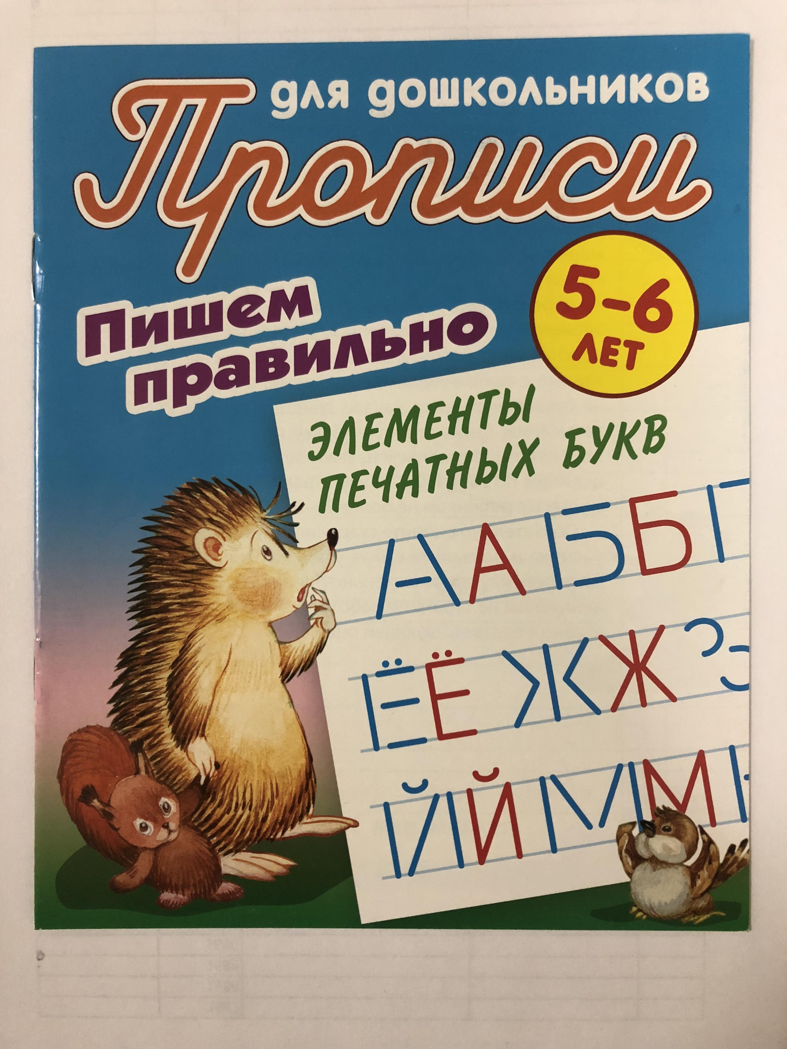 Книжка Лабиринт Пишем правильно элементы печатных букв написание печатных букв и элементов рукописных букв пропись