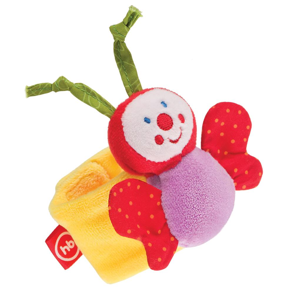 Фото - Погремушка Happy baby Funny Butterfly браслет погремушка happy baby juicy strawberry