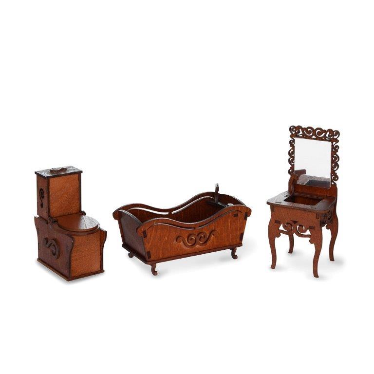 Мебель для кукол ЯиГрушка Ванная комната