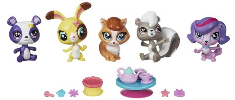 Littlest Pet Shop LITTLEST PET SHOP Пет Шоп с 5 зверюшками и аксессуарами игровой набор littlest pet shop новые чудесные приключения