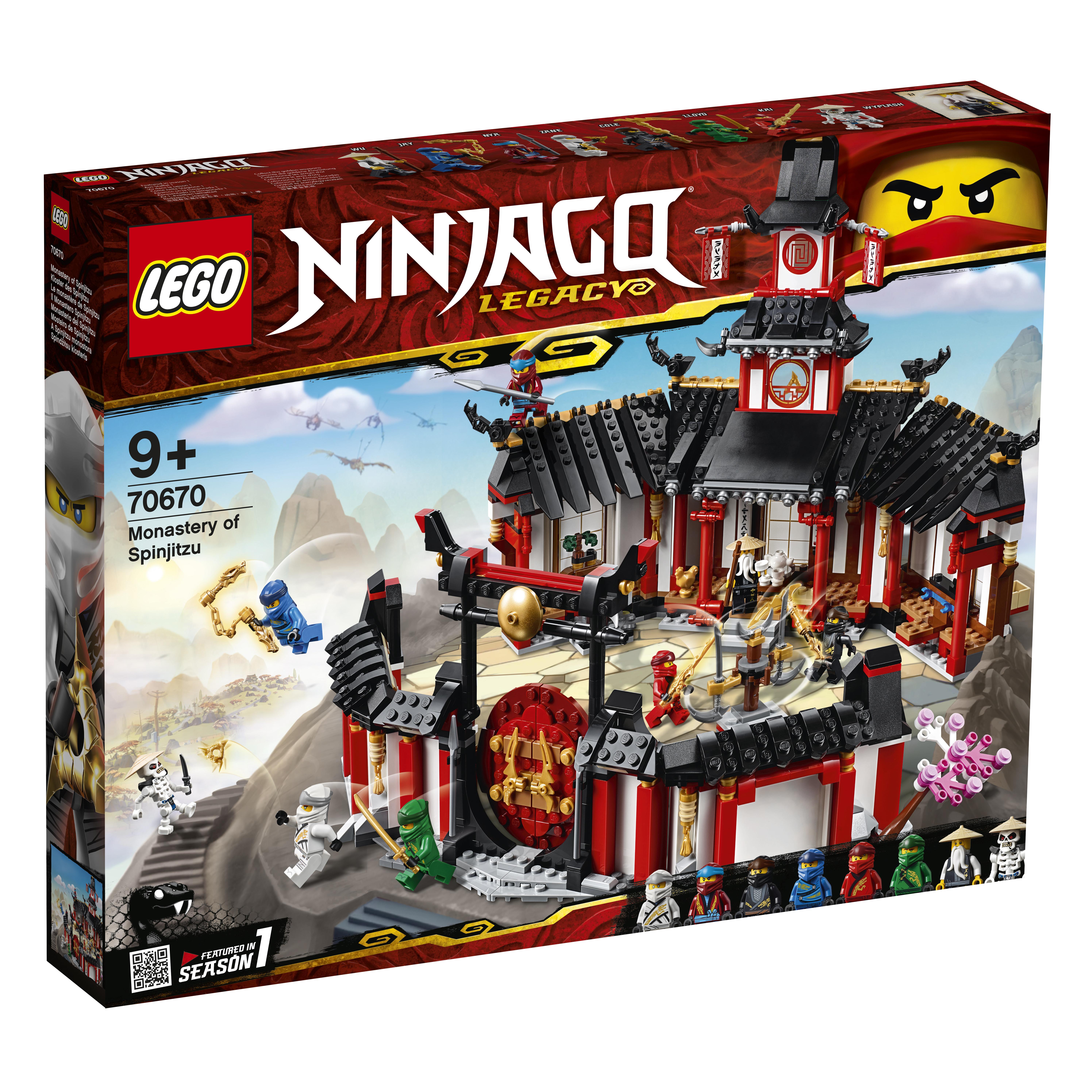 Конструктор LEGO Ninjago 70670 Монастырь Кружитцу конструктор lego обучение в монастыре 70680 ninjago legacy