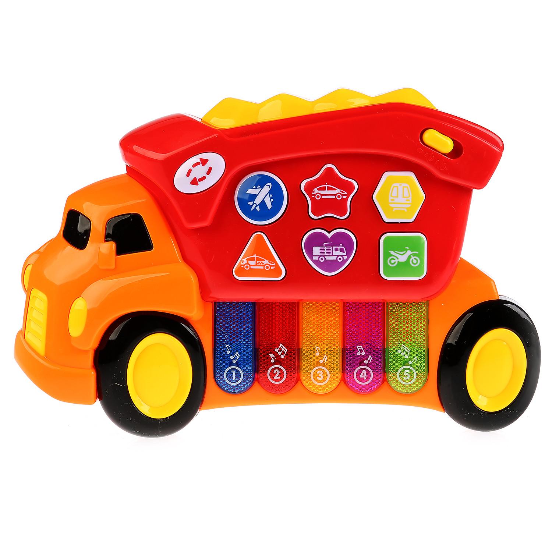 Развивающие игрушки Умка Обучающий грузовичок Умка «Стихи М. Дружининой» развивающая игрушка умка пожарная машинка со стихами м дружининой