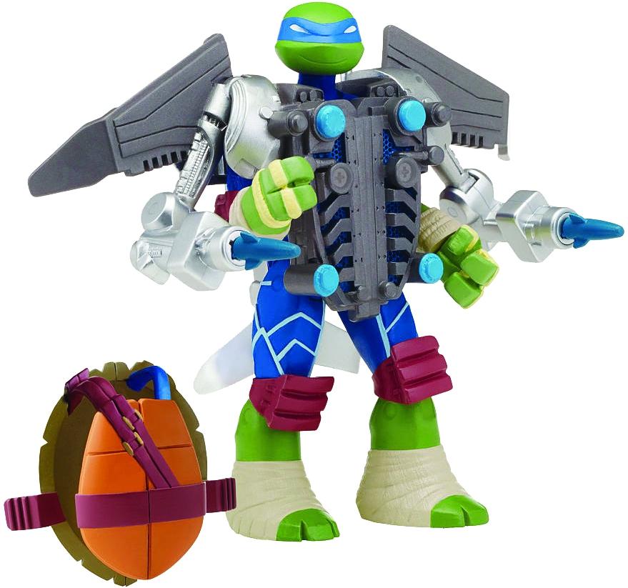 Черепашки Ниндзя Черепашки Ниндзя Супер-боевые панцири turtles говорящая фигурка черепашки ниндзя леонардо half shell hero 15 см
