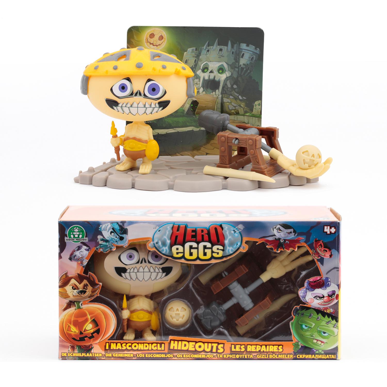 Hero eggs Игровой набор Hero eggs «Монстр Скелетон» с аксесс. hero eggs зомби