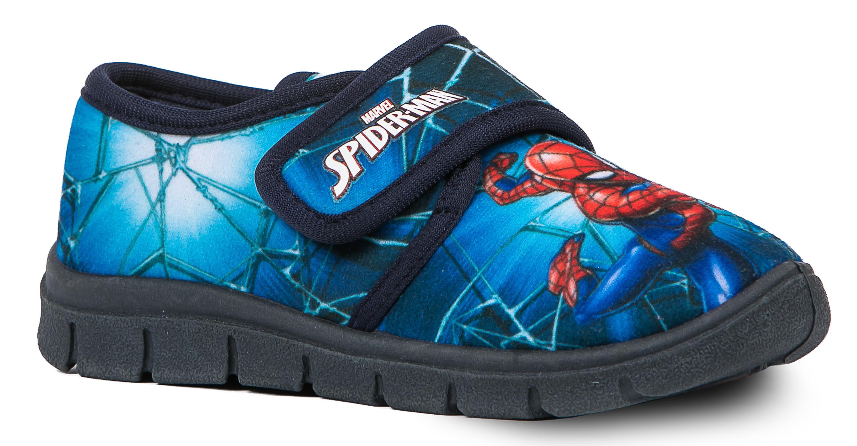 Туфли комнатные для мальчика Barkito SPIDER-MAN синие
