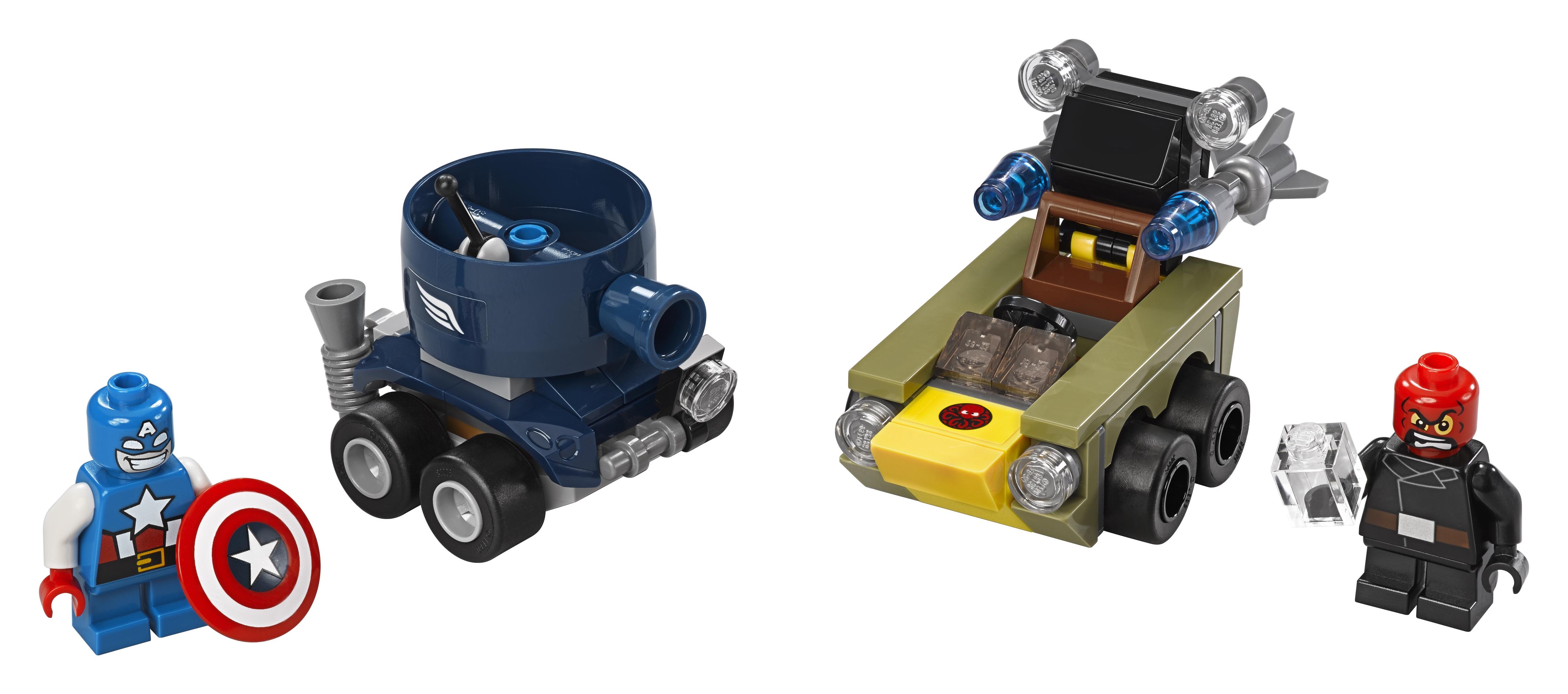 цена на LEGO LEGO Super Heroes Капитан Америка против Красного Черепа