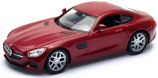 Машинки и мотоциклы Welly Mercedes-Benz AMG GT 1:34-39 машина welly mercedes benz amg gt 43705