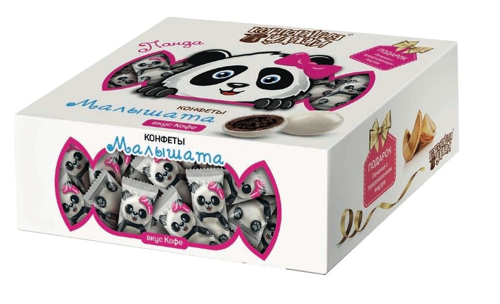 Конфеты Малышата Малышата «Панда» со вкусом кофе 122 г