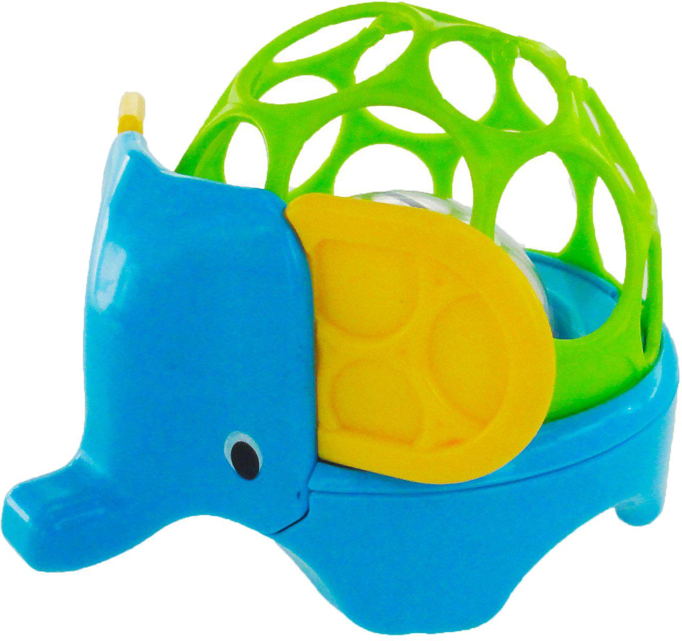 Погремушки Oball Погремушка Oball «Зоопарк: Лев/Слон» развивающие игрушки oball мячик на присоске