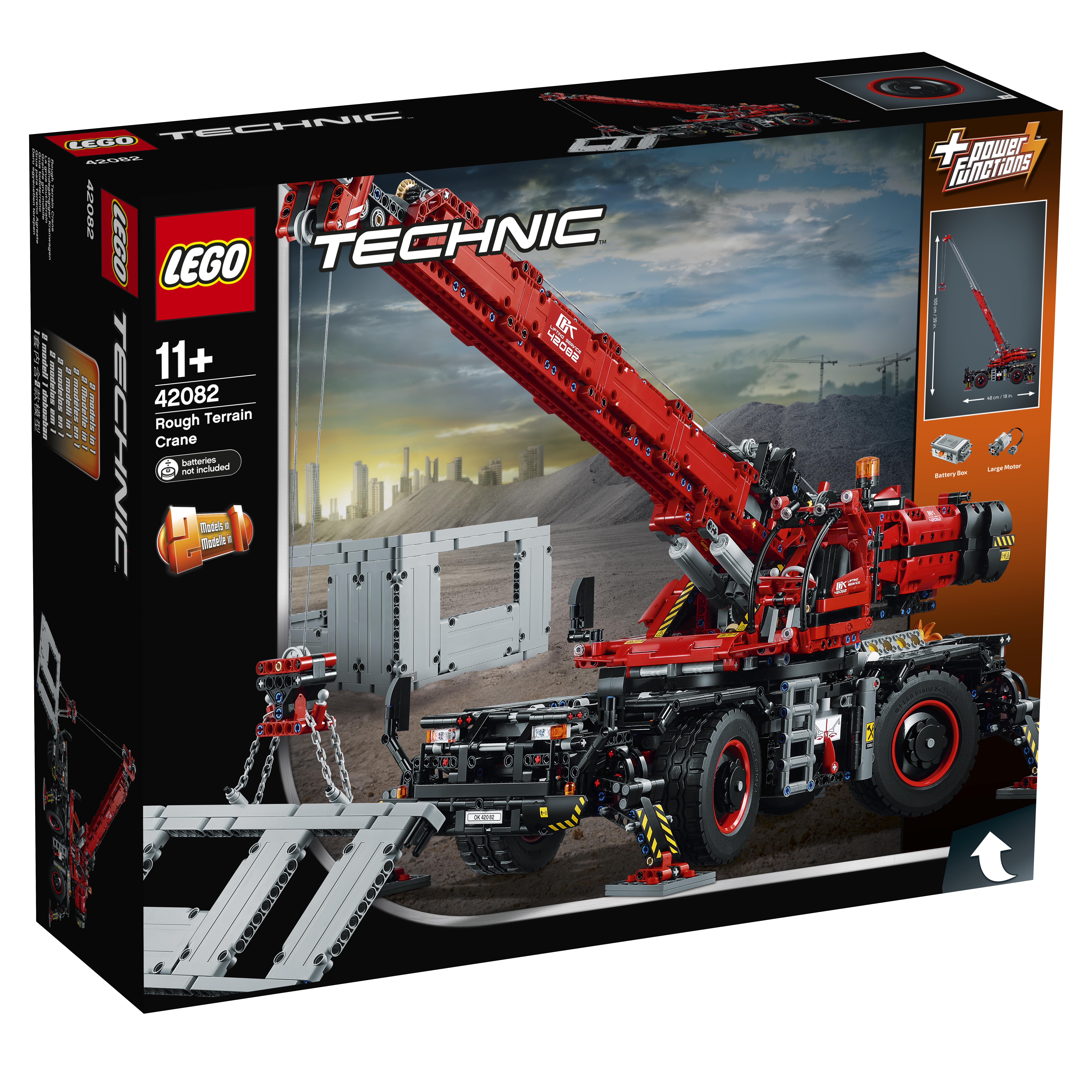 LEGO LEGO Конструктор LEGO Technic 42082 Подъёмный кран для пересечённой местности конструктор lego technic бульдозер 42071