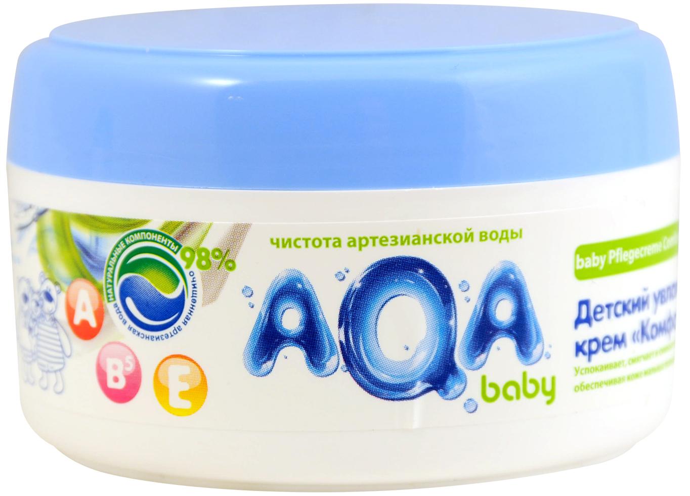 Уход за кожей малышей AQA baby Крем AQA baby спрей солнцезащитный aqa baby aqa baby spf 30