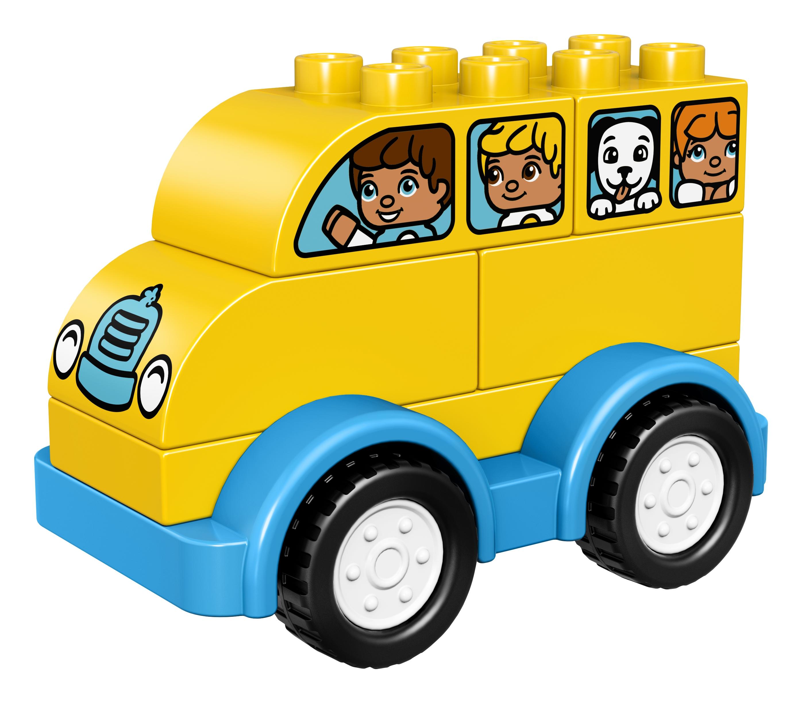 Конструктор LEGO Duplo My First 10851 Мой первый автобус lego duplo my first основные элементы lego® duplo®