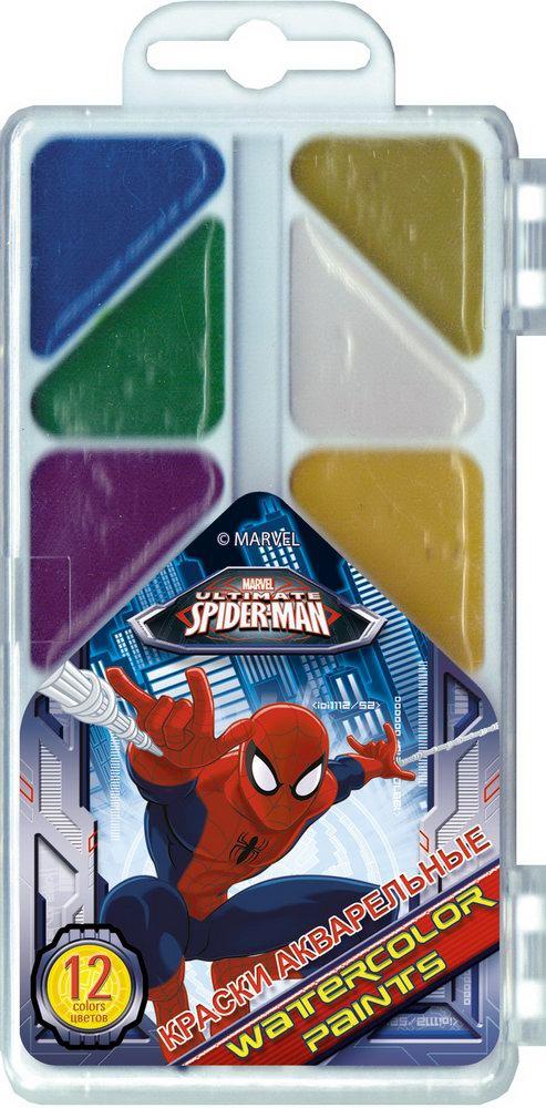 Spider Man Spider-man Медовые Spider-man 12 цветов набор канцелярский spider man 2 пр