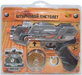 Купить Пистолеты и ружья, ARS-241, ABtoys, Китай, серый, Мужской