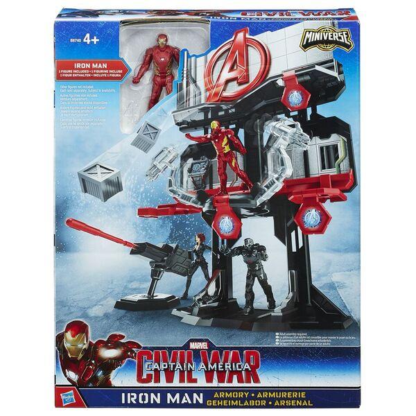 Игровой набор Hasbro башня Мстителей игровой набор hasbro iron man летающие фигурки а1735