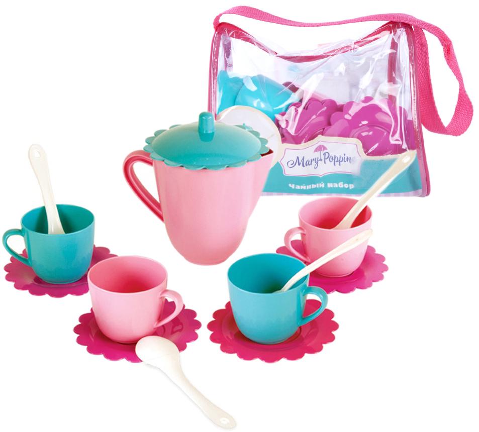 Набор чайный Наша игрушка Зайка 14 пр цены онлайн