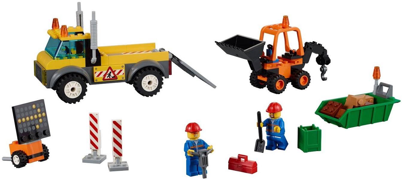 LEGO LEGO Juniors Ремонт дороги (10683) lego juniors оборона бэтпещеры™
