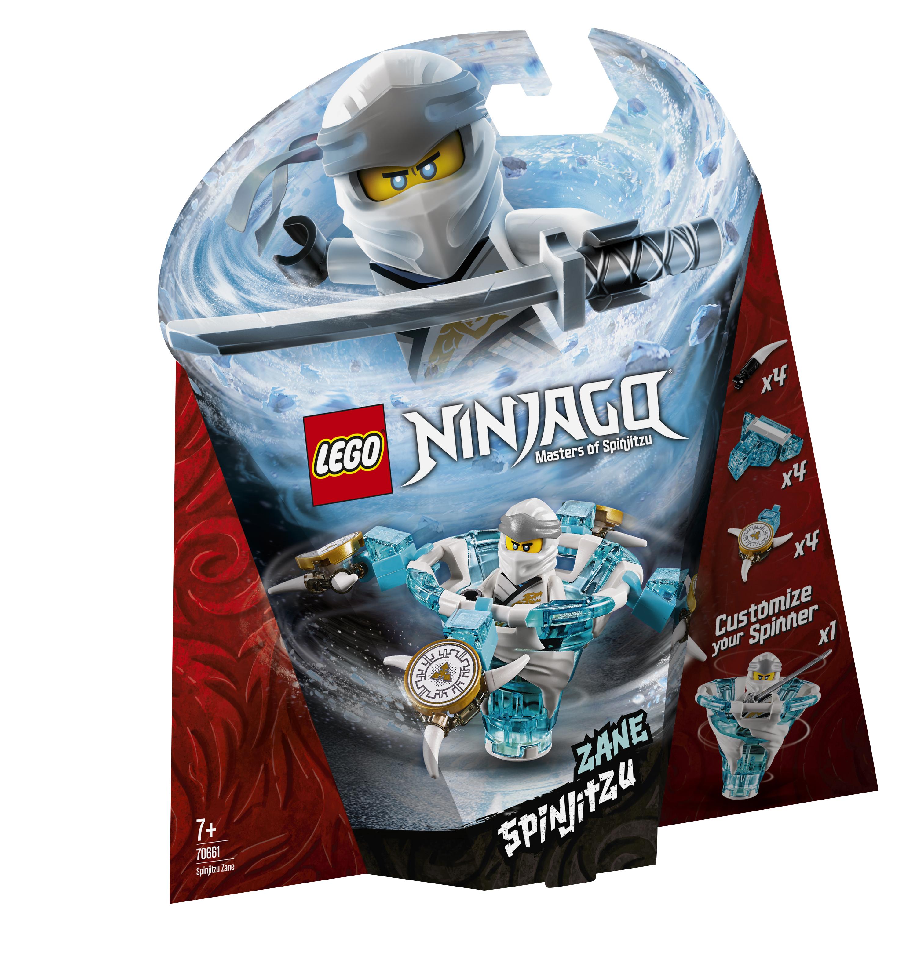 Конструктор LEGO Ninjago 70661 Зейн: мастер Кружитцу lego lego конструктор lego ninjago 70648 зейн мастер дракона
