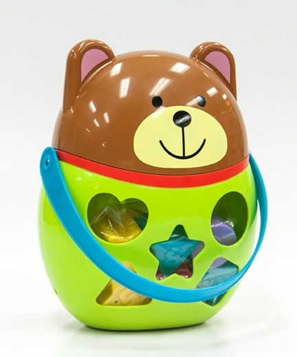 Сортеры Little Hero Сортер Little Hero «Мишка» фигурки игрушки maxitoys мишка в шапке mt 161147 30