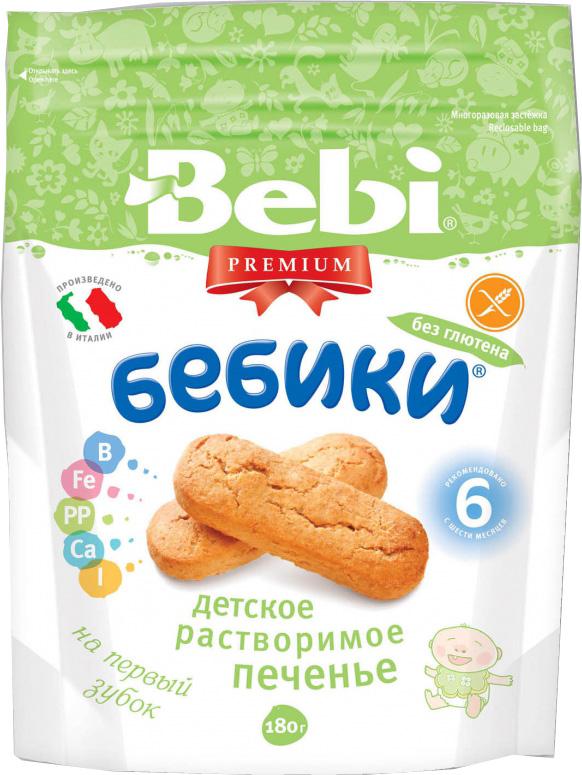 Печенье Bebi Bebi Premium «Бебики без глютена» с 6 мес. 180 г