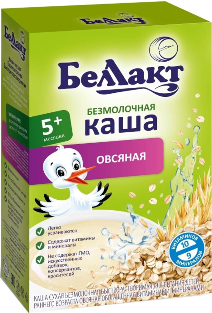 Фото - Каша Беллакт безмолочная овсяная (с 5 месяцев) 200 г heinz каша первая овсяная с 5 месяцев 180 г