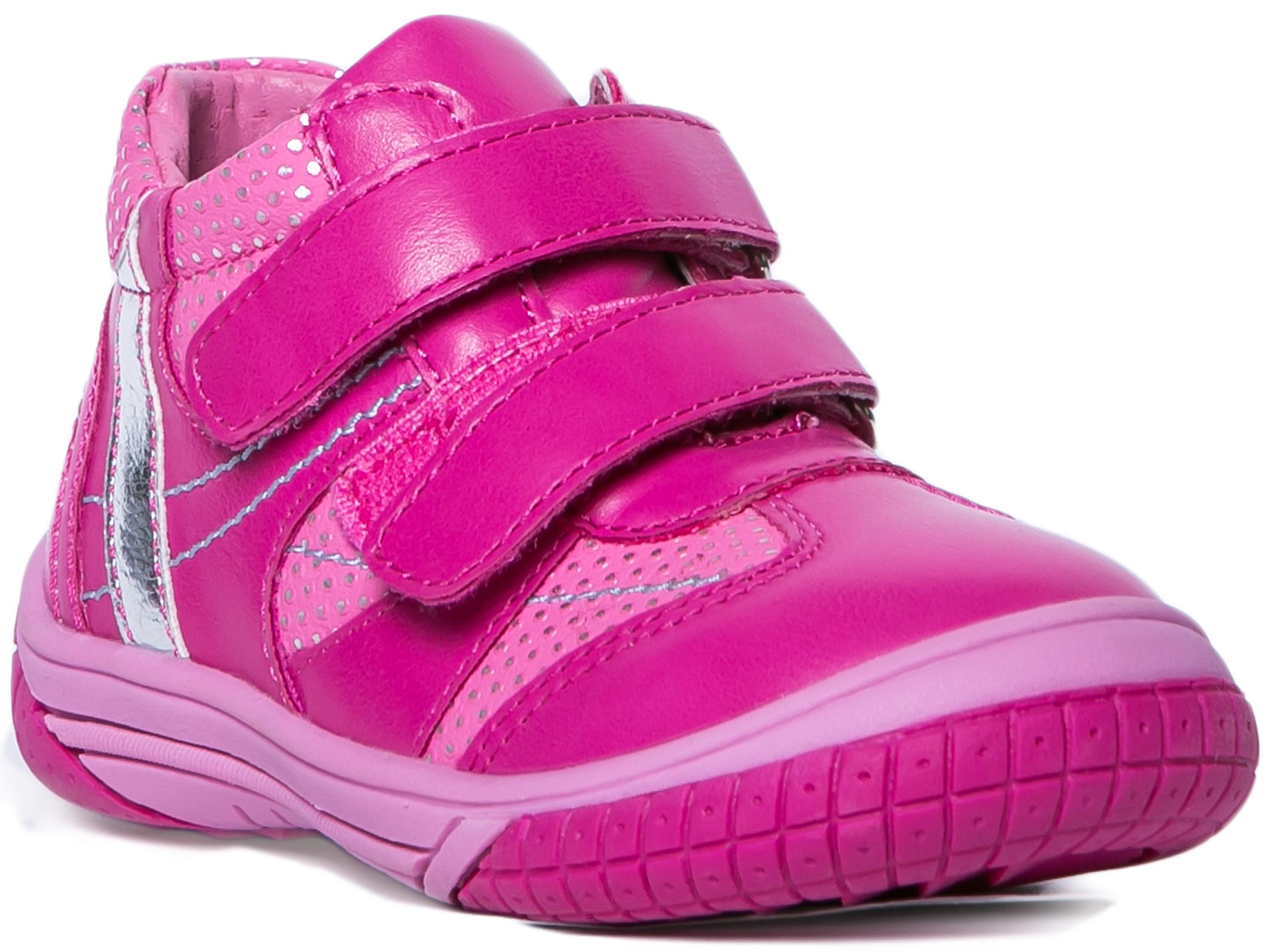 Ботинки и полуботинки Barkito Ботинки для девочки Barkito, фуксия цена