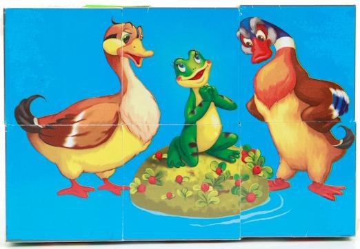 Кубики Играем вместе Русские сказки 176913 кубики русские деревянные игрушки транспорт 6 шт д488а