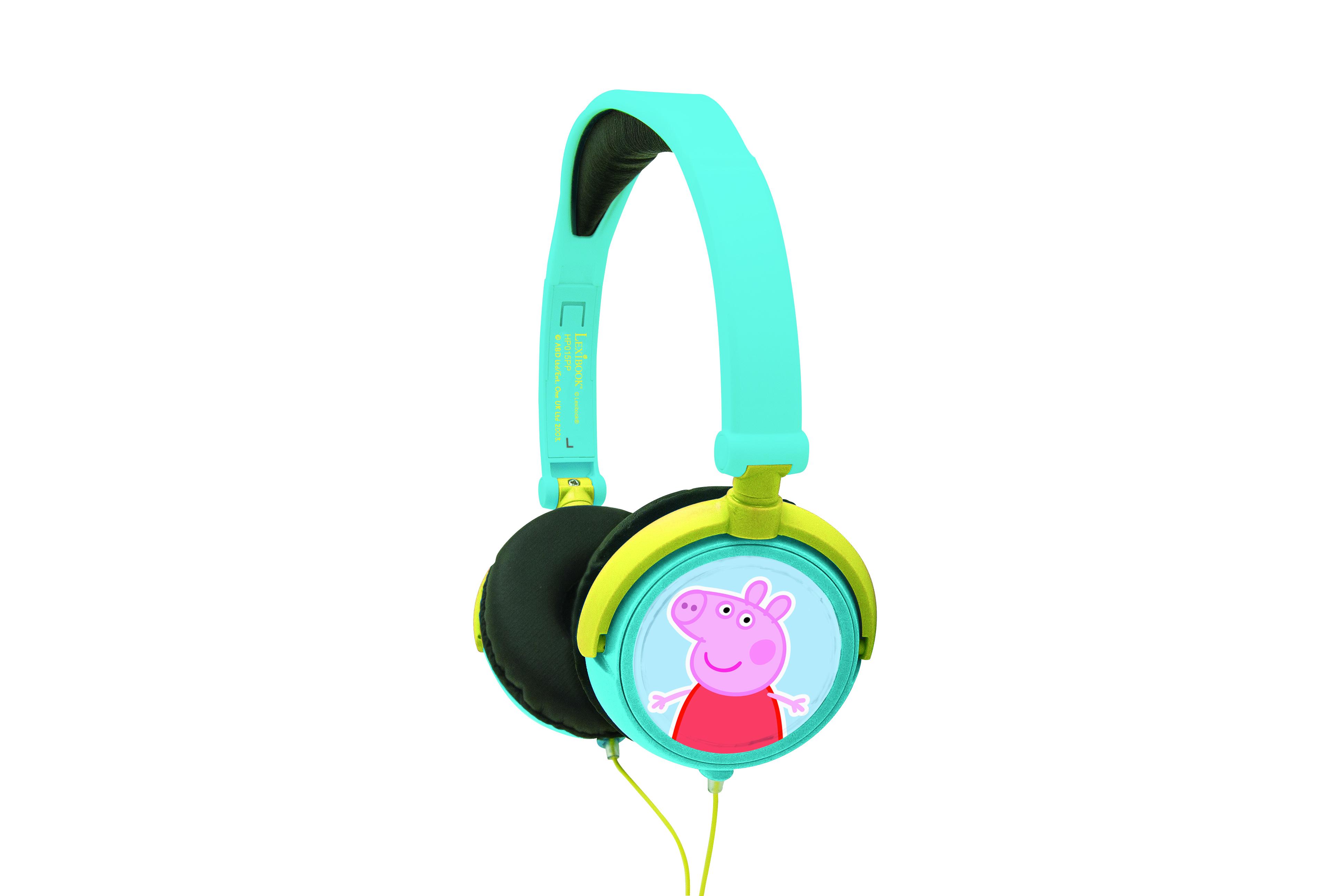 Наушники и Bluetooth-гарнитуры Lexibook Свинка Пепа buddyfun k063807 наушники детские музыкальные детские игрушки наушники гарнитуры