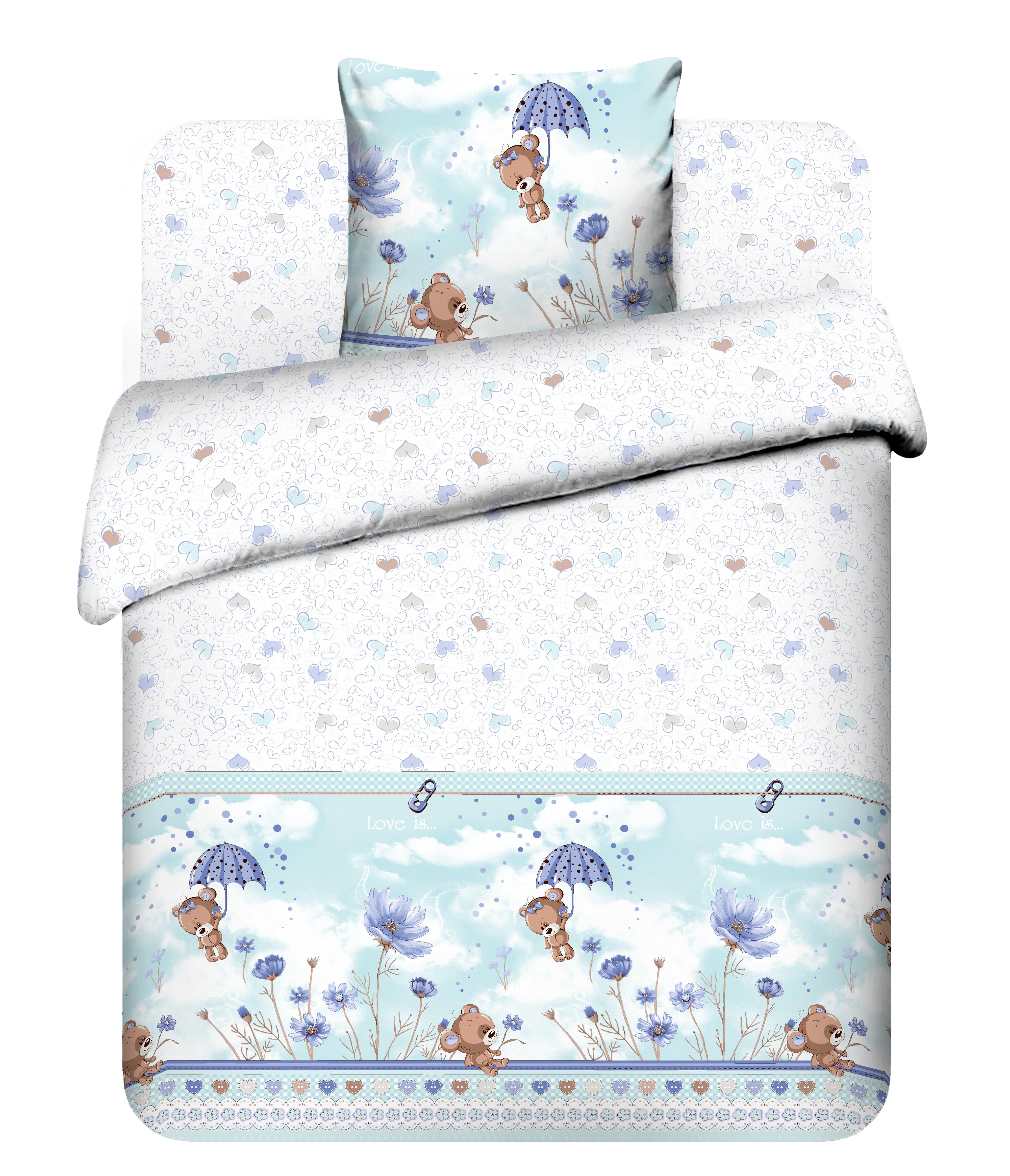 Комплект постельного белья Василек Мишутка-малютка 5444_2 комплекты белья lowry комплект белья