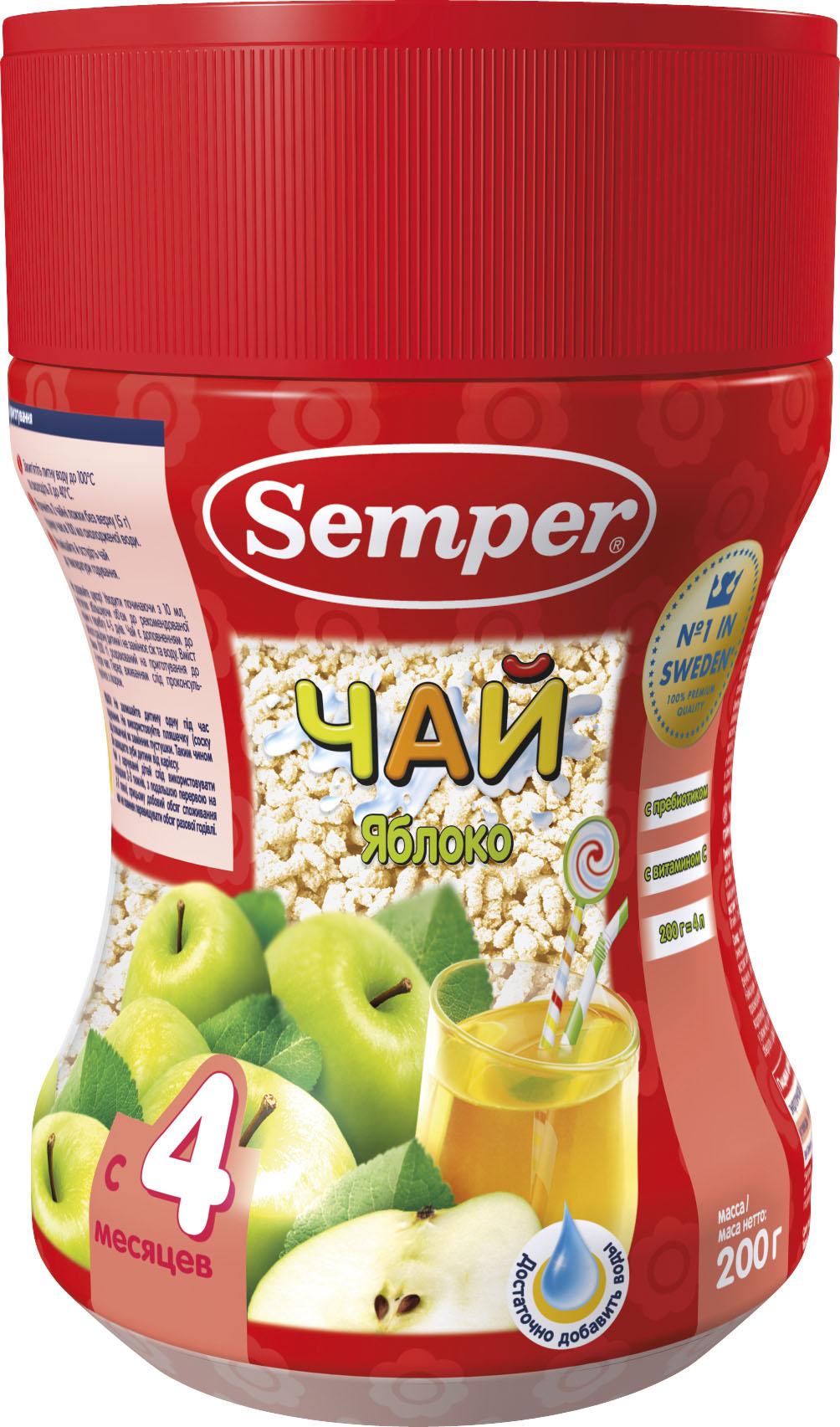 Чай Semper Яблоко с 4 мес. 200 г