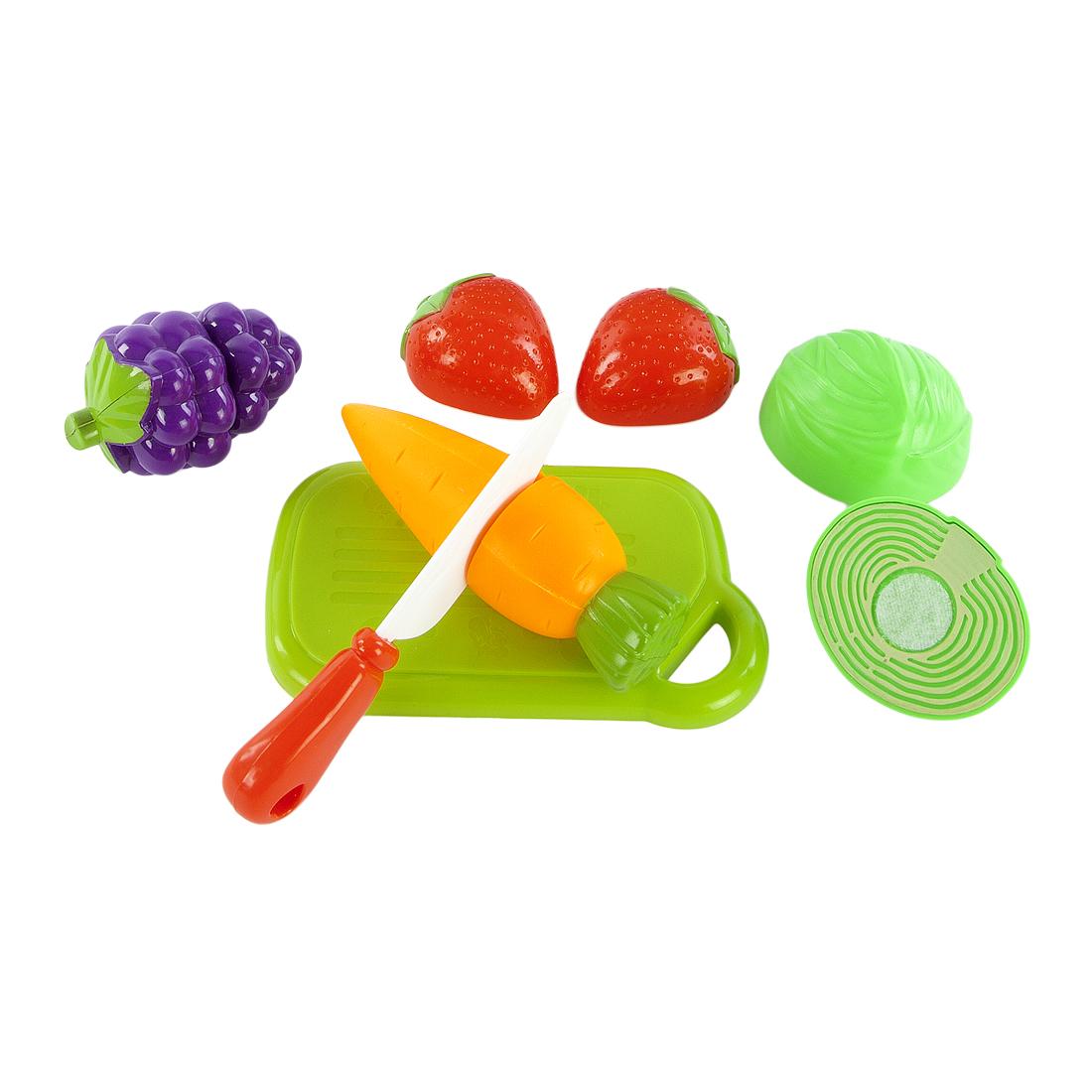 Купить Игровой набор для резки, овощи и фрукты, 1шт., Mary Poppins 453044, Китай, в ассортименте
