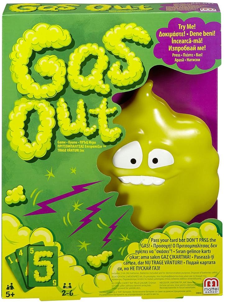 Развлекательные игры Mattel Games Настольная игра Mattel «Gas Out» wharfedale jade 5 piano black