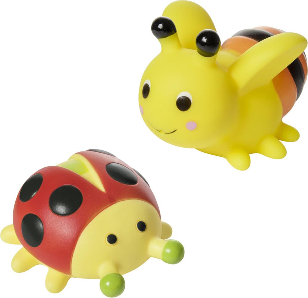 Детские игрушки для ванной Курносики Насекомые курносики набор игрушек брызгалок для ванны баю бай