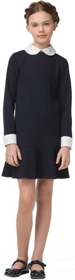 Форма для девочек Смена Платье Смена, синее смена смена платье для школы синее