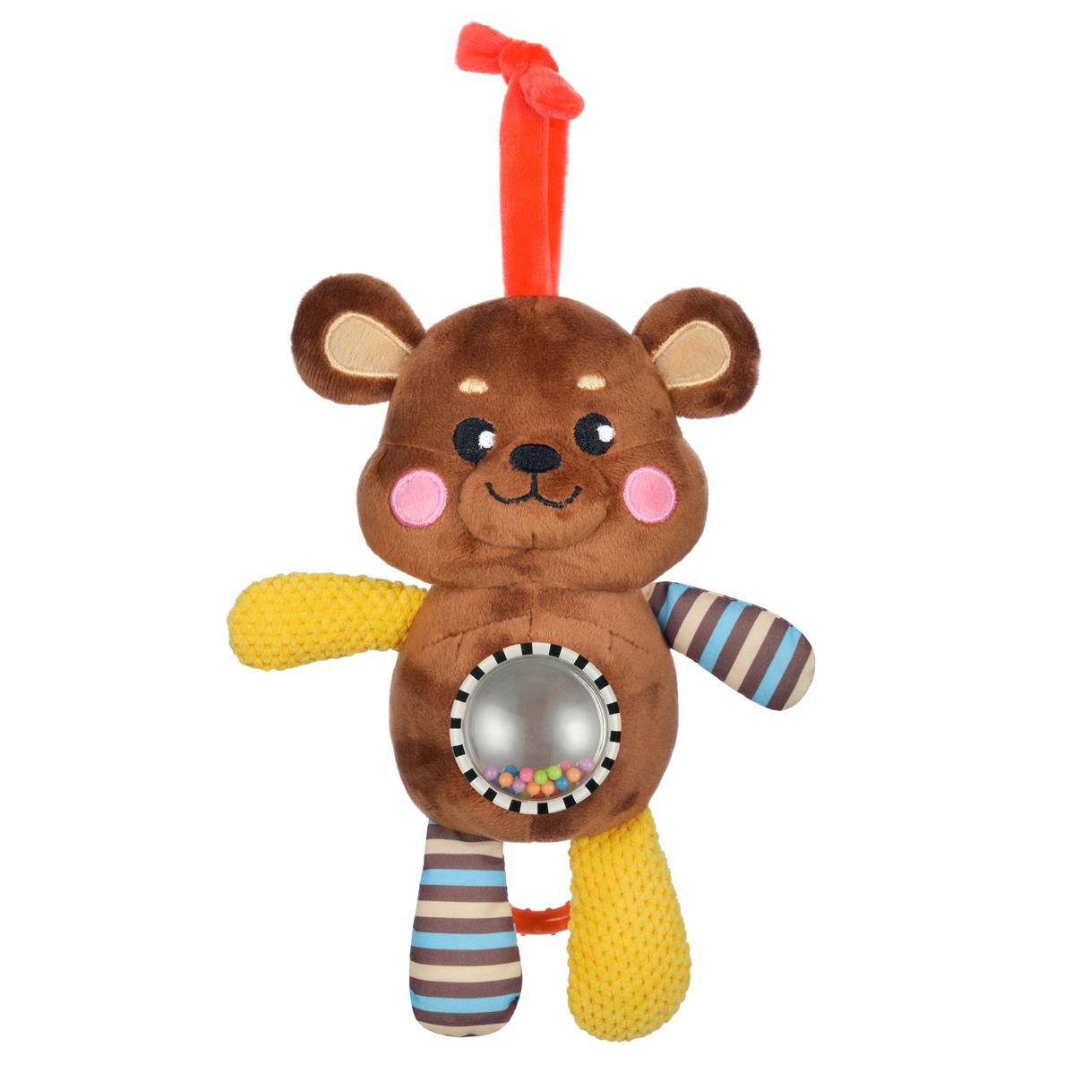 Игры и игрушки в дорогу Жирафики Мишка игры и игрушки в дорогу жирафики подвеска книжка с шуршалкой зайка полли