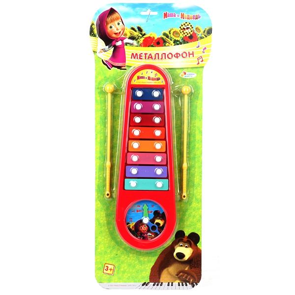 Металлофон Играем вместе Маша и Медведь