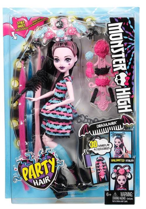 Monster High Monster High Стильные прически Дракулауры