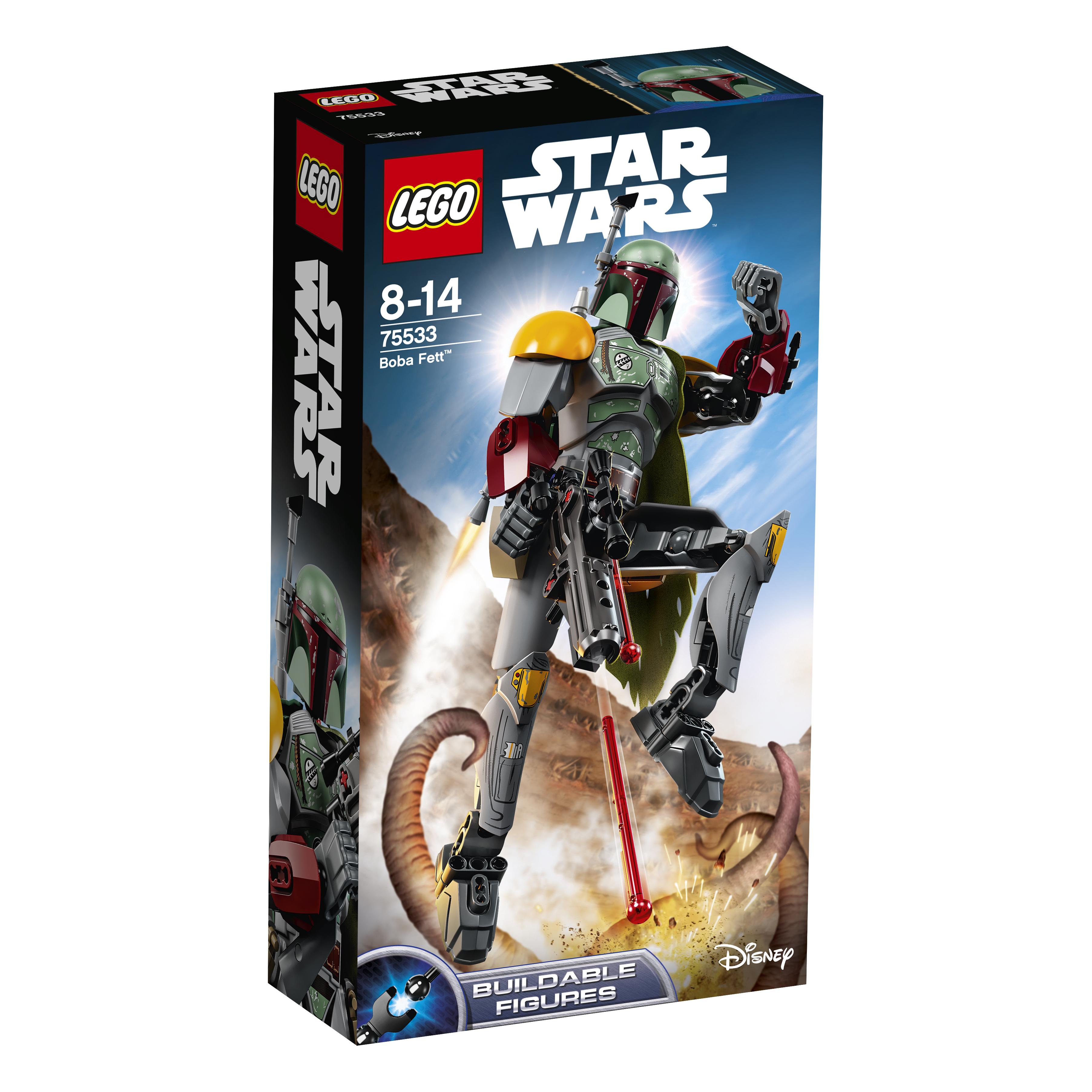 Star Wars LEGO Конструктор LEGO Constraction Star Wars 75533 Боба Фетт